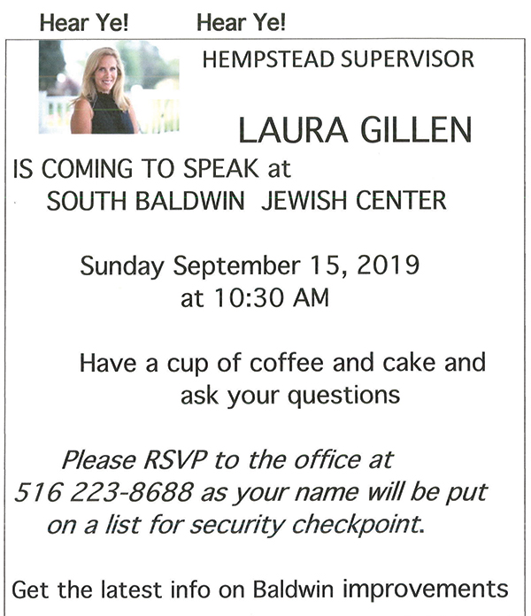Welcome to The South Baldwin Jewish Center